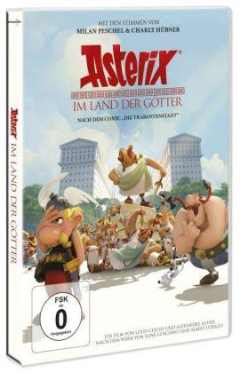 Asterix im Land der Götter, 1 DVD