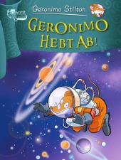 Geronimo Stilton - Geronimo hebt ab! Cover