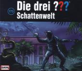 Die Drei Fragezeichen - Schattenwelt, 3 Audio-CDs Cover