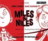 Miles & Niles - Hirnzellen im Hinterhalt, 3 Audio-CDs Cover