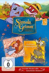 SimsalaGrimm - Dornröschen / Die Bremer Stadtmusikanten, 1 DVD Cover