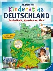 Ravensburger Kinderatlas Deutschland Cover