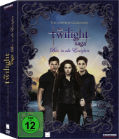 Die Twilight-Saga The Complete Collection, 11 DVDs Cover