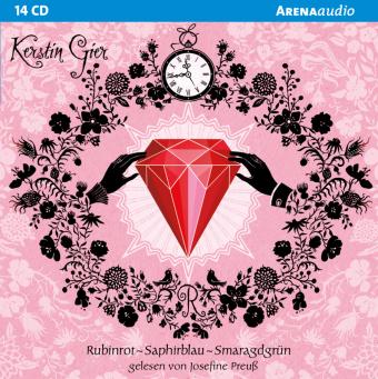 Rubinrot - Saphirblau - Smaragdgrün, 14 Audio-CDs