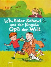 Ich, Kater Schewi und der jüngste Opa der Welt Cover