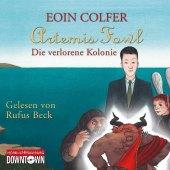Artemis Fowl - Die verlorene Kolonie, 6 Audio-CDs Cover