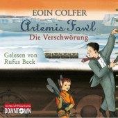 Artemis Fowl - Die Verschwörung, 4 Audio-CDs Cover