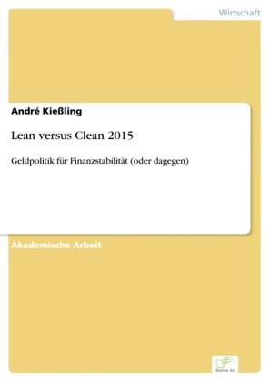 Lean versus Clean 2015