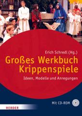 Großes Werkbuch Krippenspiele, m. CD-ROM Cover