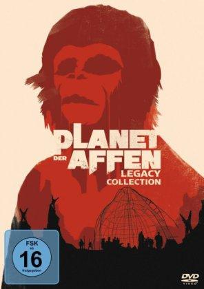 Planet der Affen - Legacy Collection, 6 DVDs
