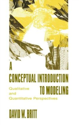 Conceptual Introduction To Modeling
