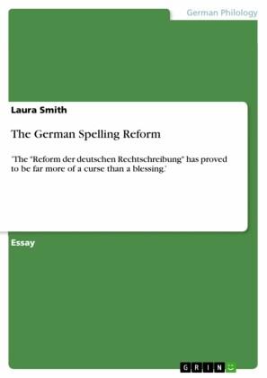 The German Spelling Reform