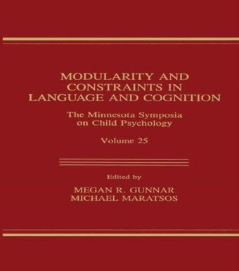 Modularity and Constraints in Language and Cognition