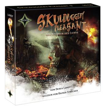 Skulduggery Pleasant - Das Sterben des Lichts, 10 Audio-CDs