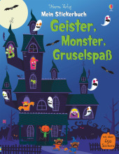 Mein Stickerbuch: Geister, Monster, Gruselspaß Cover