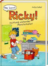 Hier kommt Ricky! - Achtung, wütender Monsterkater! Cover
