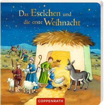 Das Eselchen und die erste Weihnacht, m. Plüschesel