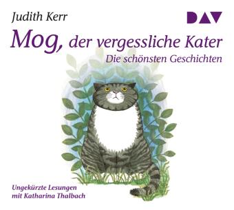 Mog, der vergessliche Kater - Die schönsten Geschichten, 1 Audio-CD