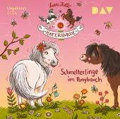 Die Haferhorde - Schmetterlinge im Ponybauch, 2 Audio-CDs