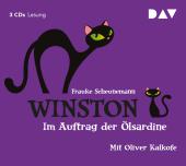 Winston - Im Auftrag der Ölsardine, 3 Audio-CDs Cover