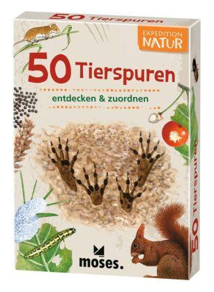 50 Tierspuren entdecken & zuordnen (Spiel)