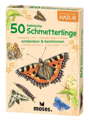 50 heimische Schmetterlinge entdecken & bestimmen, 50 Ktn.