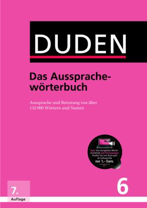 Der Duden Band 6: Das Aussprachewörterbuch