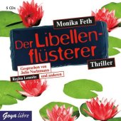 Der Libellenflüsterer, Audio-CD Cover