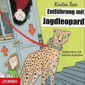 Entführung mit Jagdleopard, 4 Audio-CDs Cover