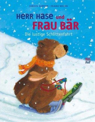 Herr Hase und Frau Bär - Die lustige Schlittenfahrt