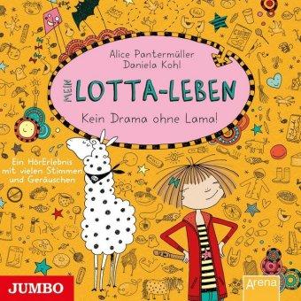 Mein Lotta-Leben - Kein Drama ohne Lama, Audio-CD
