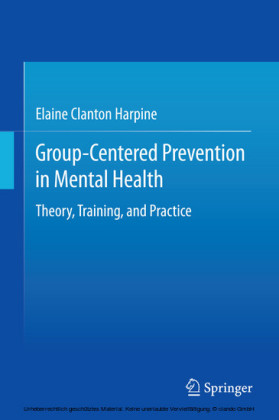Group-Centered Prevention in Mental Health