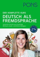 PONS Der komplette Kurs Deutsch als Fremdsprache, Buch, Audio-CD und Online-Übungen
