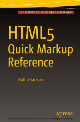 HTML5 Quick Markup Reference