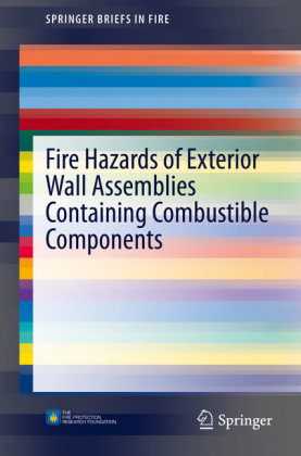 Fire Hazards of Exterior Wall Assemblies Containing Combustible Components