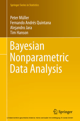 Bayesian Nonparametric Data Analysis