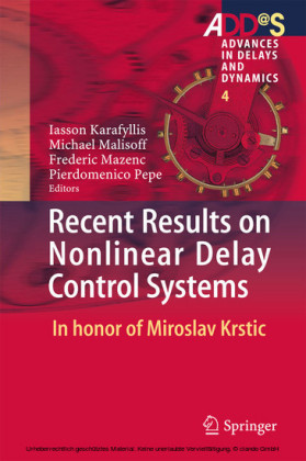 Recent Results on Nonlinear Delay Control Systems