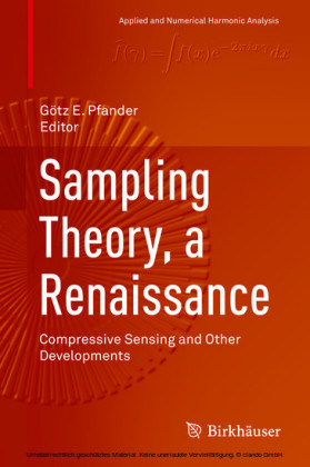 Sampling Theory, a Renaissance