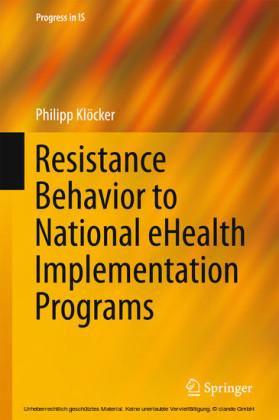 Resistance Behavior to National eHealth Implementation Programs