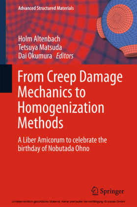 From Creep Damage Mechanics to Homogenization Methods