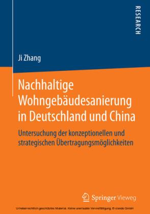 Nachhaltige Wohngebäudesanierung in Deutschland und China