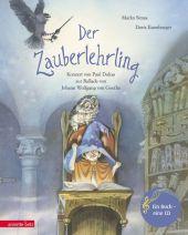 Der Zauberlehrling, m. 1 Audio-CD Cover
