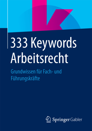 333 Keywords Arbeitsrecht