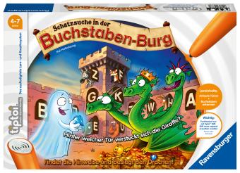 Schatzsuche in der Buchstaben-Burg (Spiel-Zubehör)