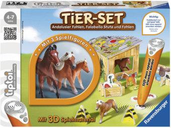 Tier-Set Falabellas, tiptoi Spielfigur mit Steuerungskarten