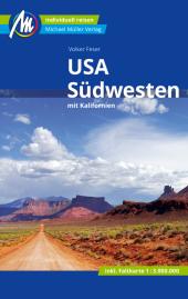USA - Südwesten Reiseführer, m. 1 Karte Cover