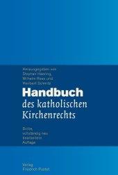 Handbuch des katholischen Kirchenrechts Cover