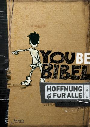 Hoffnung für alle. Die Bibel - YOUBE-Bibel, Trend Edition braunes Cover