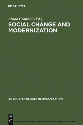 Social Change and Modernization