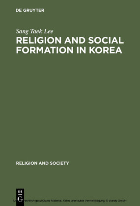Religion and Social Formation in Korea